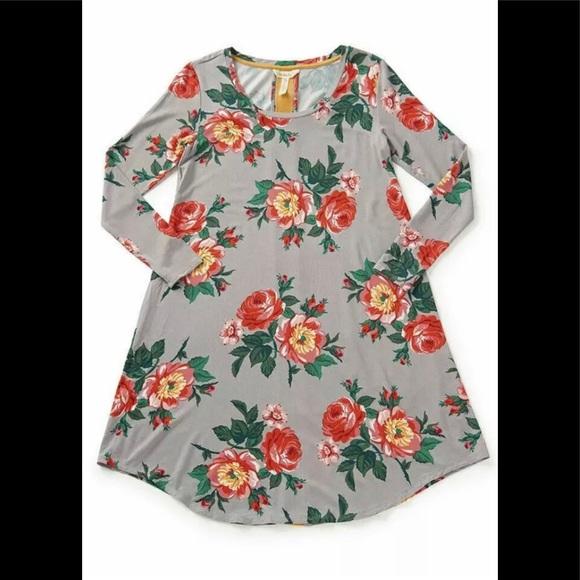 "Matilda Jane Dresses & Skirts - Matilda Jane Floral ""Say I'm a Dreamer"" Dress sz Medium"